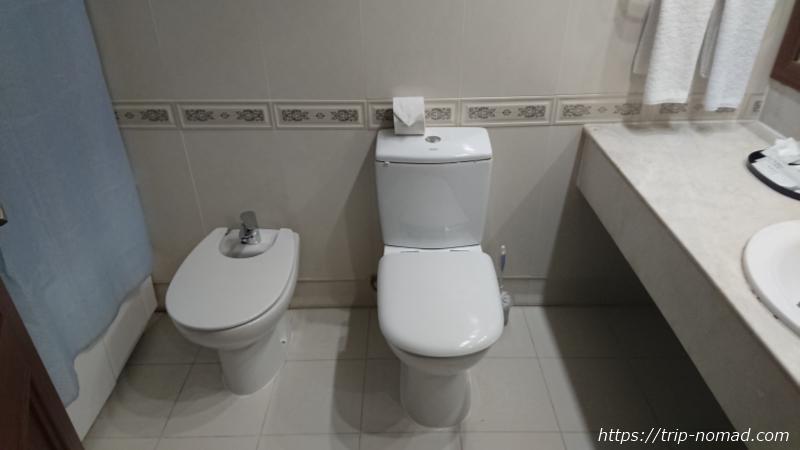 ウラジオストク『ベルサイユホテル』トイレ
