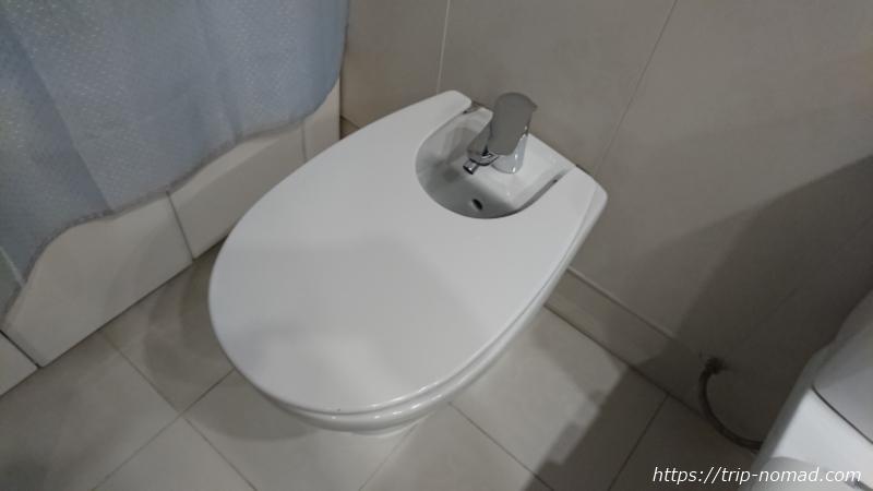 ウラジオストク『ベルサイユホテル』トイレのビデ