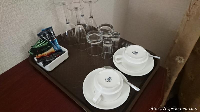 ウラジオストク『ベルサイユホテル』グラス&カップ類