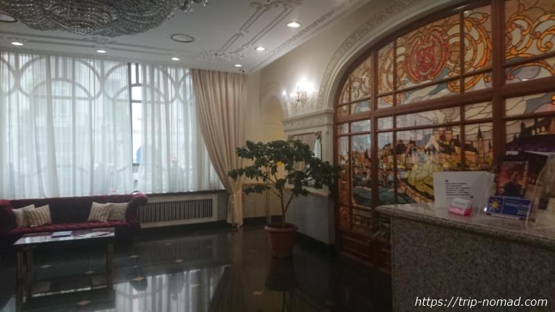ウラジオストク『ベルサイユホテル』フロント