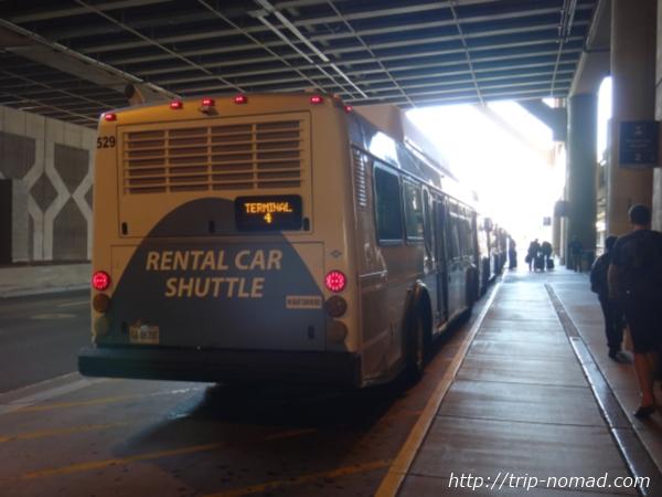 『フェニックス空港・レンタカーセンター(Rental Car Center)』シャトルバス画像