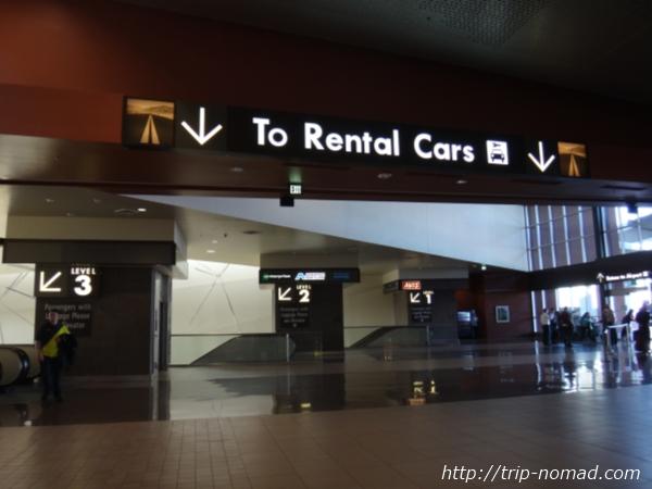 『フェニックス空港・レンタカーセンター(Rental Car Center)』フロア画像