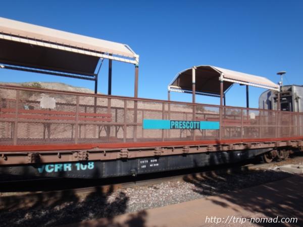 『ヴェルデキャニオン鉄道(Verde Canyon Railroad)』見学用車両画像