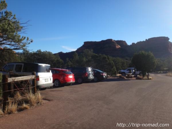 『ボイントンキャニオン(Boynton Canyon)』駐車場画像
