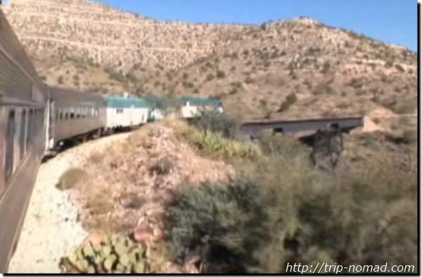 『ヴェルデキャニオン鉄道(Verde Canyon Railroad)』イメージ画像