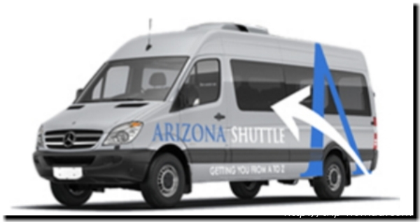 Arizona Shuttle(アリゾナ・シャトル)』画像