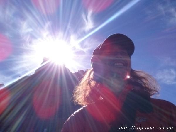 『ベルロック(Bell Rock)』での赤い光のオーブ画像