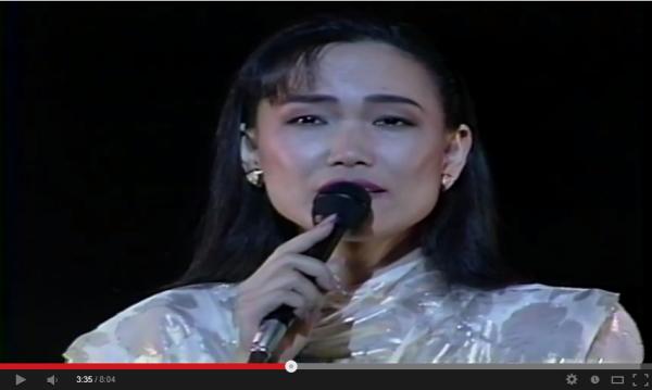 インドネシアで一番有名な日本の曲は、五輪真弓さんの「心の友」だった