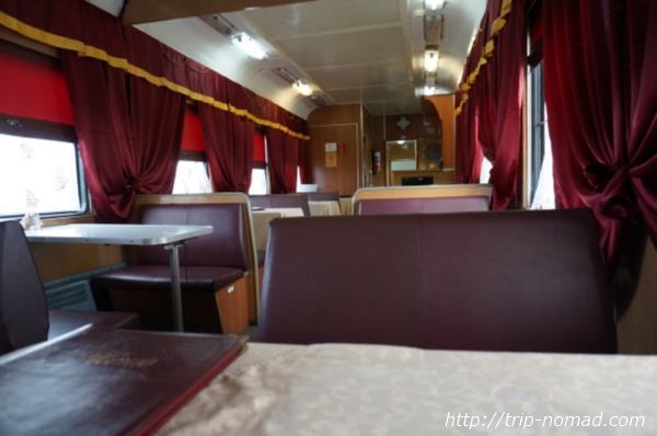 シベリア鉄道の食堂車のクオリティが恐ろしくやばい(笑)