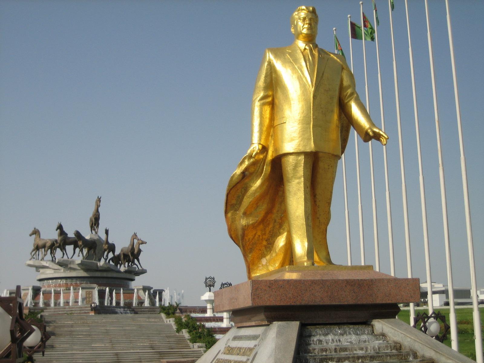 【トルクメニスタン】超貴重映像!これがニヤゾフ独裁国家絶頂期時代のトルクメニスタンだ!