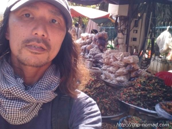 【カンボジア】(閲覧注意!)アンコールワット観光ついでに香ばしい『虫料理』を食べてみよう!