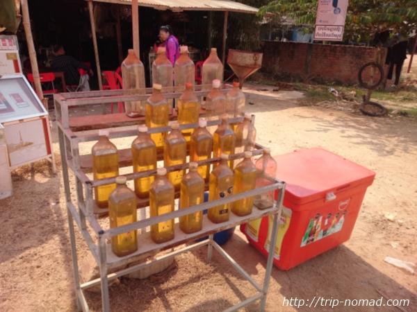 【カンボジア】衝撃!カンボジアではペットボトルで売っている!