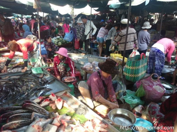 【海外市場巡り・カンボジア編】プノンペン『カンダール市場』