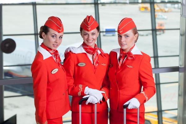 【アエロフロート】なんと『世界一おしゃれな客室乗務員の制服』にランクインした!