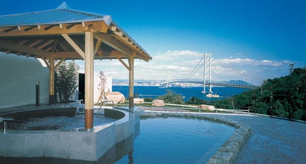 【淡路島】明石海峡大橋を一望できる温泉『美湯松帆の郷』!この絶景ロケーションを見ないで帰るな!