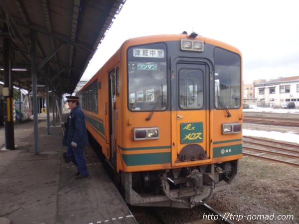 【青森】冬の名物観光列車『ストーブ列車』に乗ってスルメイカを食べてきた!