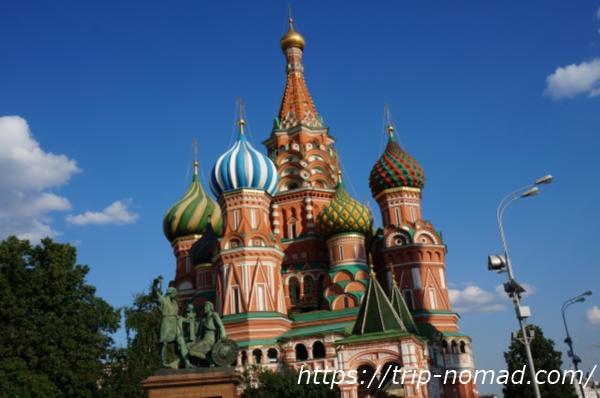 【ロシアの世界遺産】玉ねぎ屋根『聖ワシリー大聖堂』観光を10倍楽しむ方法!見どころポイントをまとめたよ!